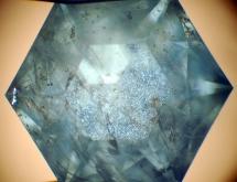 Rutile, apatite and bohemite in sapphire