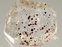 Hematite balls in quartz