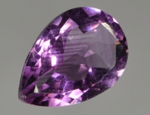 Color zoning in amethyst