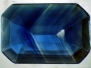 Inclusions in sapphire