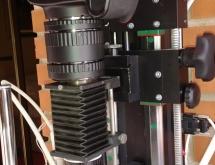 Macrorail setup with Schneider Componon S