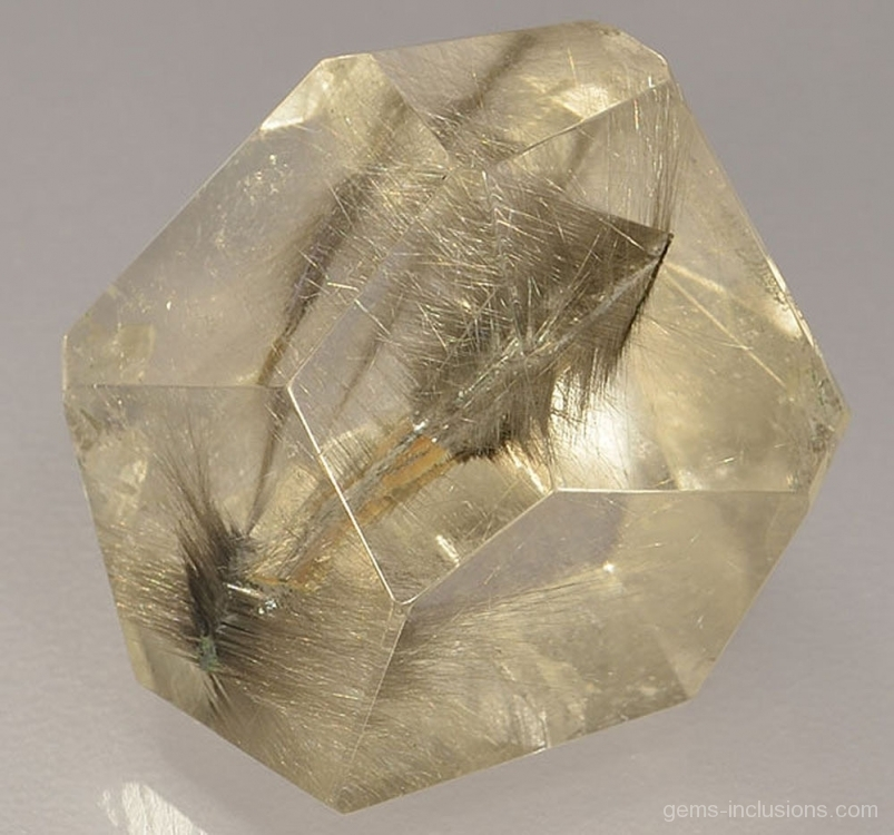 rutile inclusions gems inclusions
