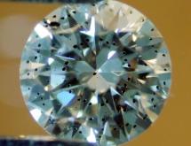 Garnet inclusion in diamond