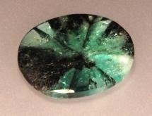Trapiche emerald from Colombia