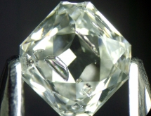Metallic inclusions in synthetic diamond