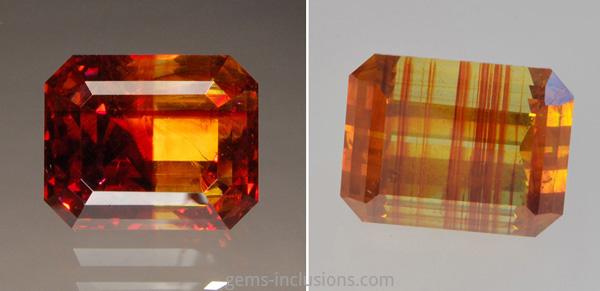 Color distribution   gems-inclusions