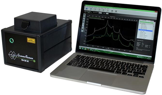 Gemmoraman-532 portable spectrometer