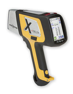 Olympus portable XRF analyzer