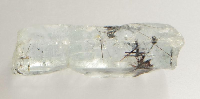 Aquamarine with Tantalite